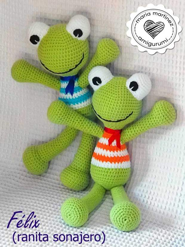 Ravelry: Felix the Frog pattern by Mari-Liis Lille | 827x620