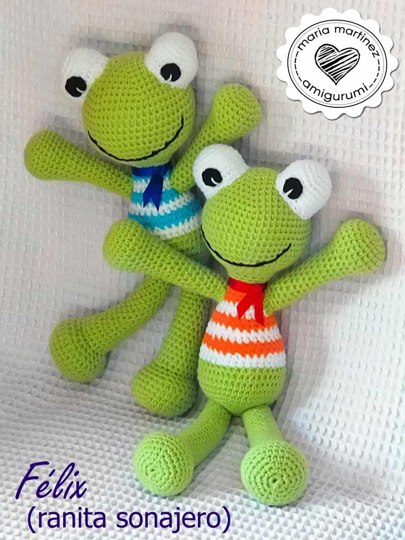 Amigurumi felix the frog slugom for maria martinez amigurumi adorables munecos de crochet bankloansurffo Gallery