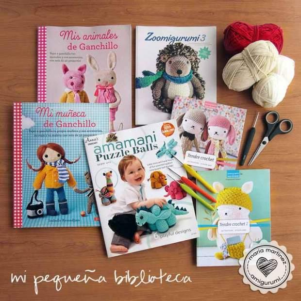 Maria Martinez Amigurumi: mis libros de crochet