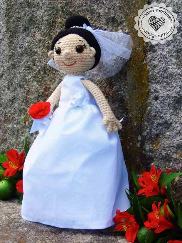 Novios Crochet (patron) Maria Martinez Amigurumi