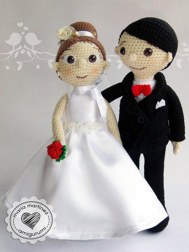 Más novios en Crochet (patrón) – Maria Martinez Amigurumi