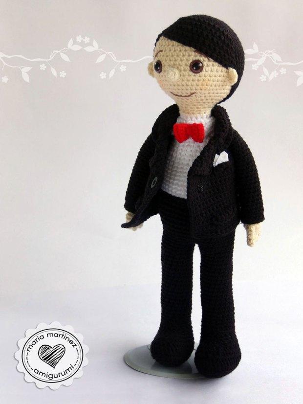 Novios Crochet Patron Gratis Maria Martinez Amigurumi